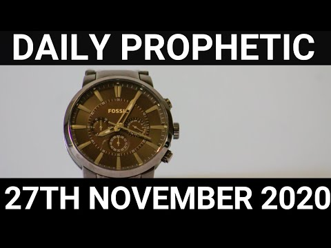 Daily Prophetic 27 November 2020 10 of 12