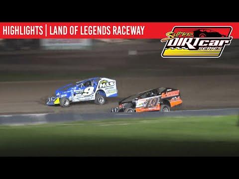 Super DIRTcar Series Big Block Modifieds Land of Legends Raceway September 18, 2021   HIGHLIGHTS - dirt track racing video image