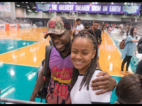 Asia Marie goes to her 1st Sneakercon L.A. 2017 - default