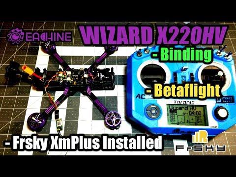 Eachine Wizard X220HV Binding/Betaflight/Receiver Installed - UCLE0ux_o8FJJfzEAzk-iYyw