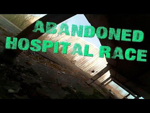 #drone-racing в заброшенном госпитале / at abandoned hospital - default