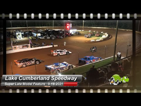 Lake Cumberland Speedway - Super Late Model Feature - 9/18/2021 - dirt track racing video image
