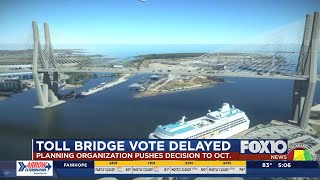 Mobile Planning Organization delays vote on Mobile River Bridge