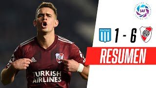 Racing - River Plate [1-6] | GOLES | Superliga Argentina Fecha 3 | FOX Sports
