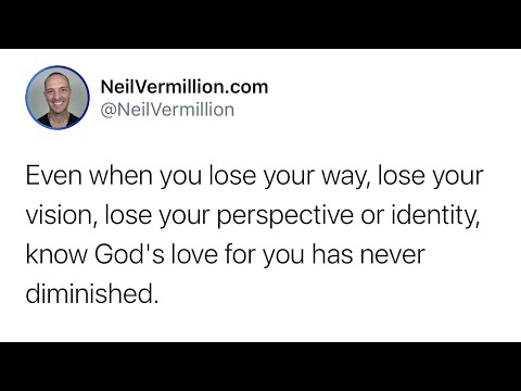 My Love For You Has Never Diminished - Daily Prophetic Word