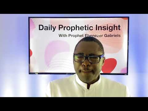 A Month of Joy in the Bones of the Righteous - August 1, 2020  Prophetic Insight