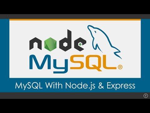 Using MySQL With Node.js - default