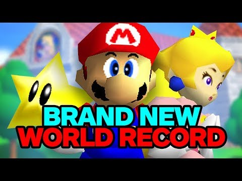 Mario 64 Speedrunner Breaks His Own World Record - UCKy1dAqELo0zrOtPkf0eTMw