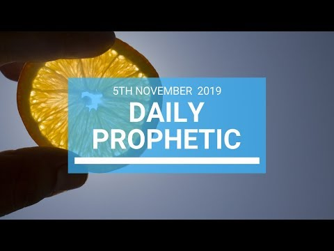 Daily Prophetic 5 November Word 1