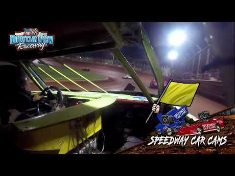 #24 Nate Ingham - FWD - 9-11-21 Mountain View Raceway - In-Car Camera - dirt track racing video image