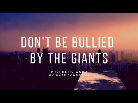 PROPHESYING OVER YOU! // Don't be bullied by the giants - OCCUPY!