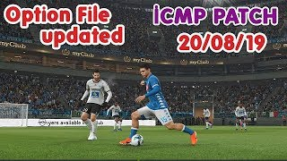 ICMP V2.0 | Option File Updated Season 2020 PES2019 PC Steam CPY (20/09/2019)