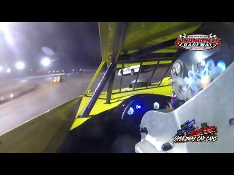 #55 Kylan Garner - Cash Money Late Model - 9-5-2021 Springfield Raceway - In Car Camera - dirt track racing video image