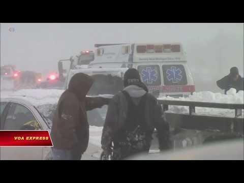 Mỹ trải qua mùa lạnh kỷ lục (VOA)