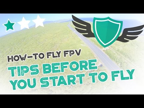 "How-to Fly FPV Quadcopters / Drone - ""TIPS AND GUIDELINES BEFORE YOU START FLYING"" - UC7Y7CaQfwTZLNv-loRCe4pA"