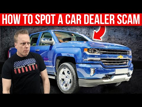 How to Spot a dealership scam when shopping for a new car or truck. - UCziwLfSSPLWc8bp02Pc5azg