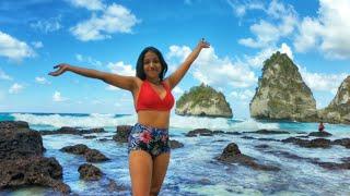 Diamond Beach Nusa Penida | Bali Travel Vlog | Indian Couple Travelling in Bali | Anagha Mirgal