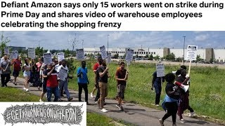 Amazon Mocks Its Own Striking Employees