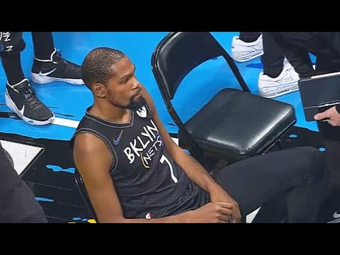 Kevin Durant Gets FURIOUS At NBA After Being Ejected For Health Protocols! Nets vs Raptors