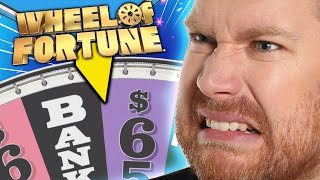 The Bankruptcy Gambler in Wheel Of Fortune!