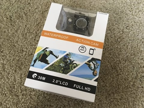 Canany Action Camera Sport First Impressions Review - GoPro Knockoff as good as the real thing?