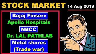 (NBCC) (Bajaj Finserv) (Metal shares Trade war) (Apollo Hospital) (Dr LALPATHLAB) in Hindi by SMkC
