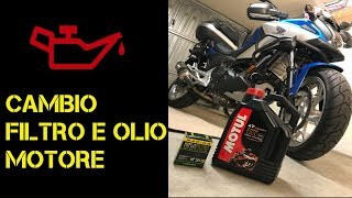 Cambio olio Honda NC750X