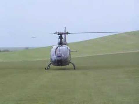 gazelle helicopter lifting-off - UCdVNUpwGwH7hq63cxG9S5_A