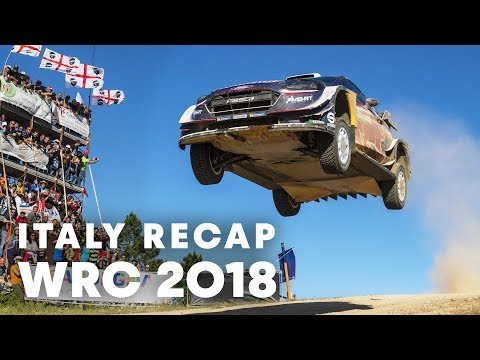 Top 5 highlights from Rally Italy 2018. | WRC 2018 - UCblfuW_4rakIf2h6aqANefA