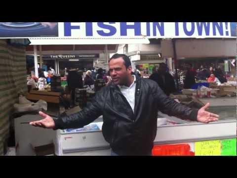 One 1 Pound Fish, Queens Market, Upton Park, London