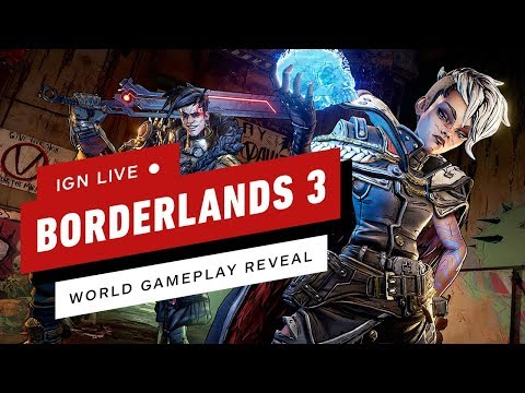 Borderlands 3 Worldwide Gameplay Reveal - IGN Live - UCKy1dAqELo0zrOtPkf0eTMw