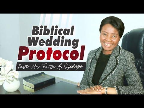 Biblical Wedding Protocol