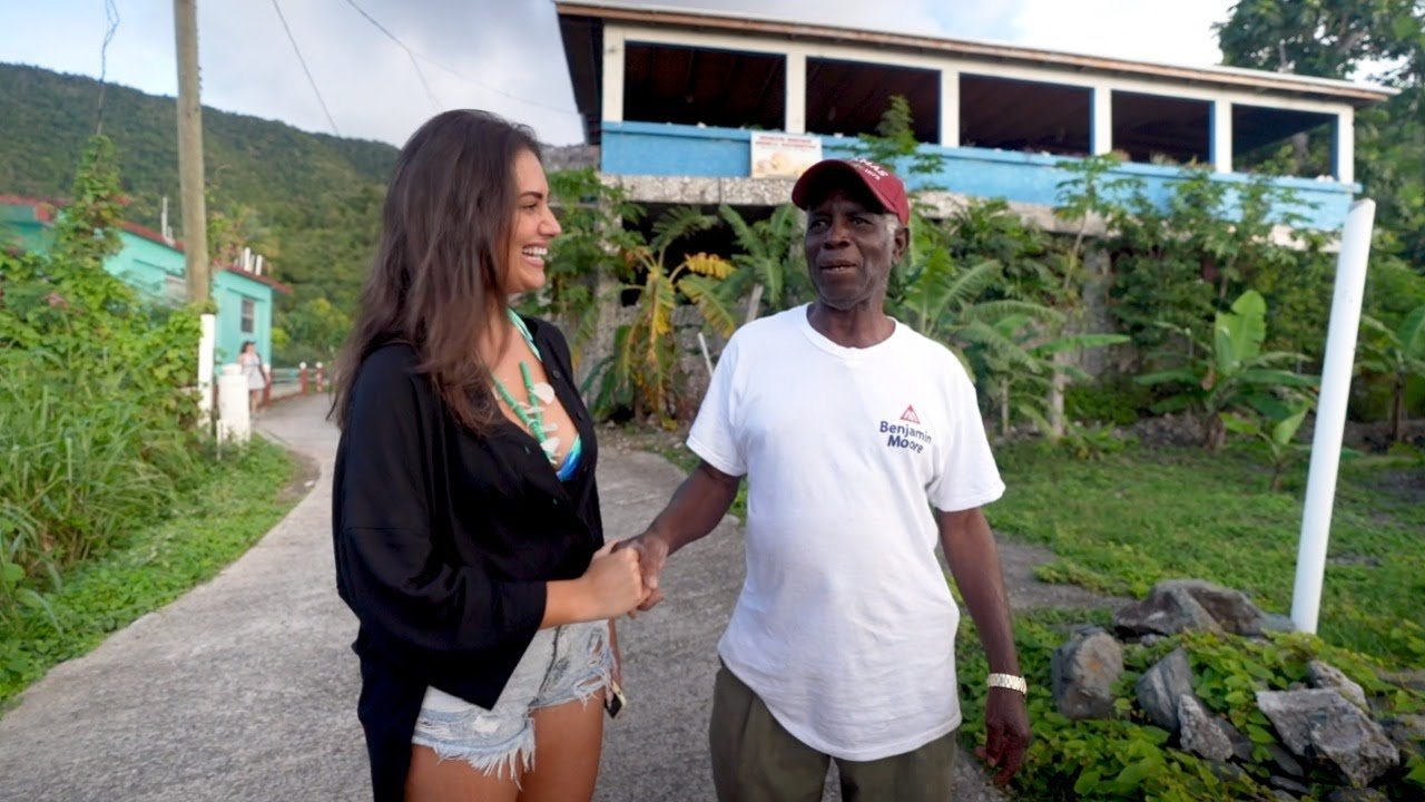 Visiting The Shell Museum On Tortola With Lorena Duran