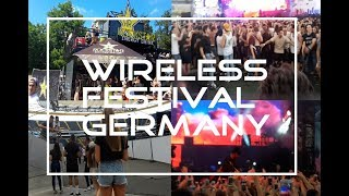 Wireless Festival - Frankfurt Germany | Travis Scott | Sean Paul | Machine Gun Kelly | Justin Bieber