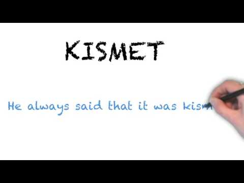 How to Pronounce 'KISMET'- English Grammar