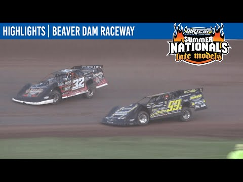 DIRTcar Summer Nationals Late Models Beaver Dam Raceway June 30, 2021 | HIGHLIGHTS - dirt track racing video image
