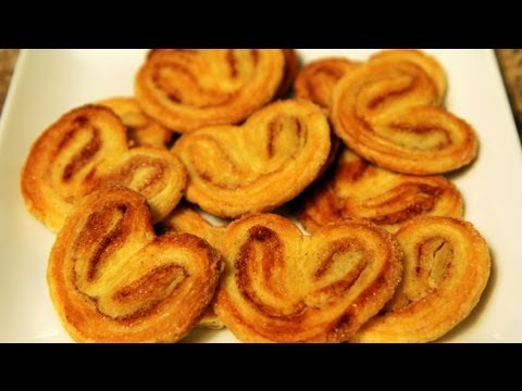 Alia's Tips: How to Make Palmiers or Elephant Ears Cookies! - UCB8yzUOYzM30kGjwc97_Fvw