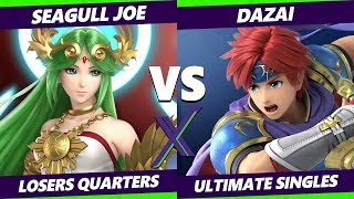 Smash Ultimate Tournament - Seagull Joe (Palutena) Vs. BG   Dazai (Roy) S@X 316 SSBU Losers Quarters