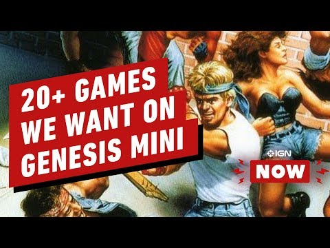 20+ Things We Want From the SEGA Genesis Mini - IGN Now - UCKy1dAqELo0zrOtPkf0eTMw