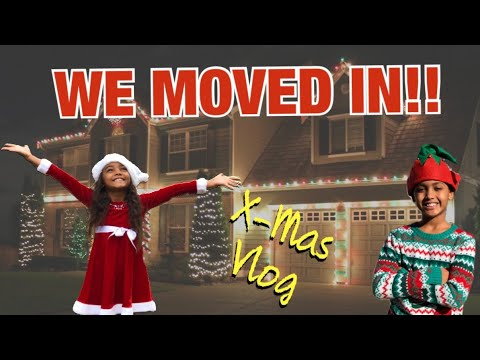 WE MOVED IN!!! NEW HOUSE | JBLM Christmas Vlog | Vlogmas *The Nev Fam*
