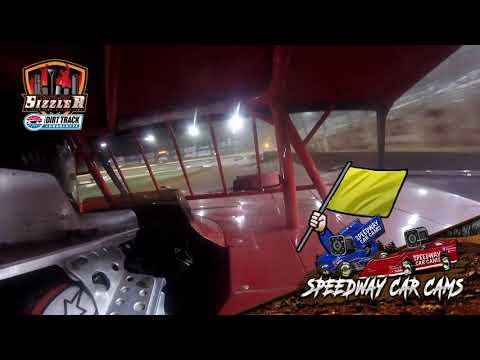 #05 Carson Ruark - 602 Late Model - Carolina Sizzler 7-17-21 - In-Car Camera - dirt track racing video image