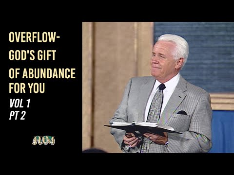 Overflow- God's Gift of Abundance for You, Vol.1 Pt.2 Jesse Duplantis