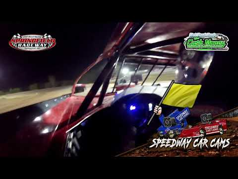 #28 Kylan Garner - Cash Money Late Model - 10-3-2020 Springfield Raceway - In Car Camera - dirt track racing video image
