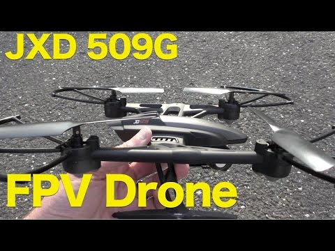 Pioneer UFO JXD 509G, Streaming FPV Quadcopter with HD Video Review - UCG20rXlEUWfFI1p2B5n3akg