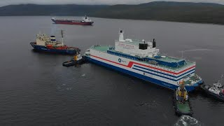 Russia launches floating nuclear reactor in Arctic despite warnings   AFP