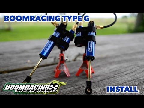 Bommracing Type G Boomerang Shocks Install - UCgd75oxuoMQhL5v10SSGM4w
