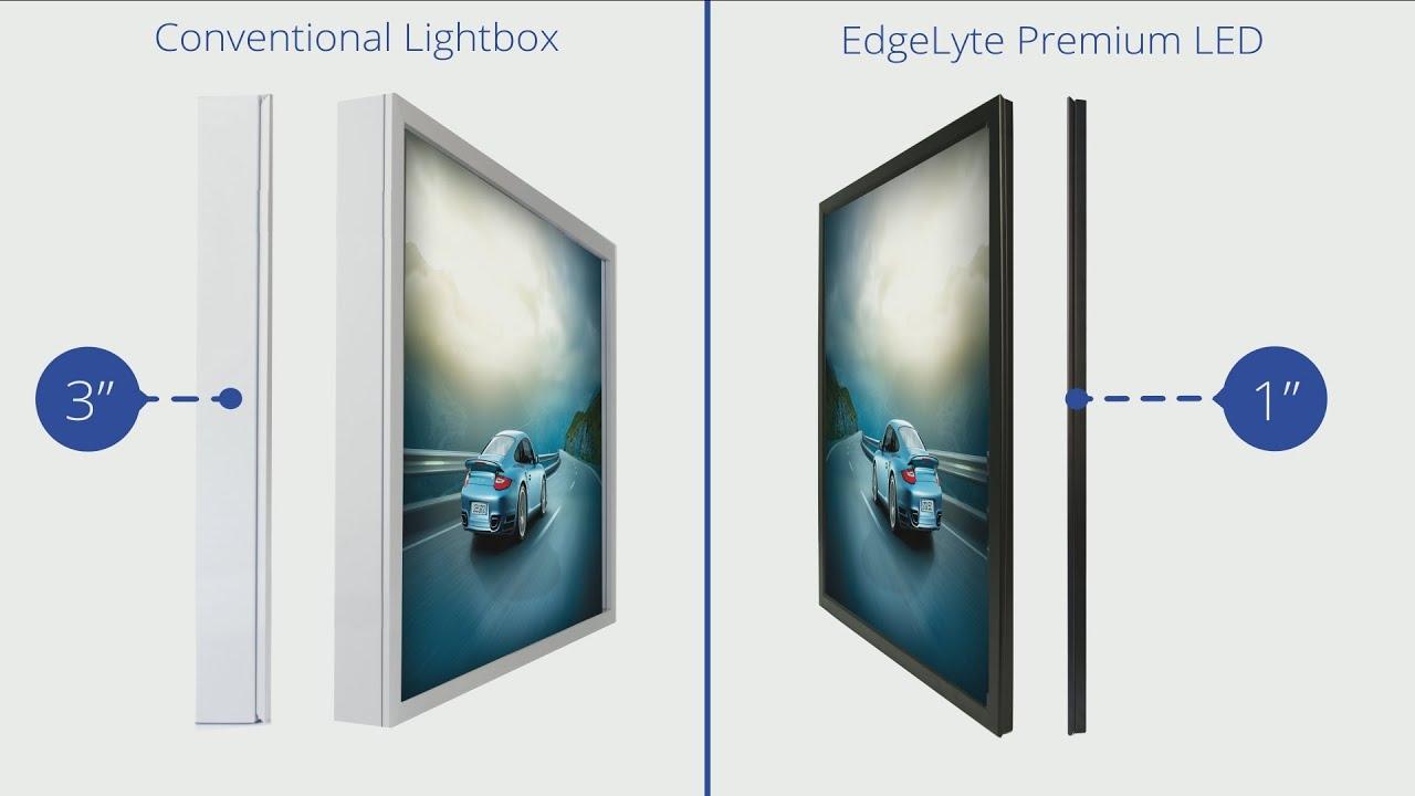 Lightbox Review: EdgeLyte Premium LED