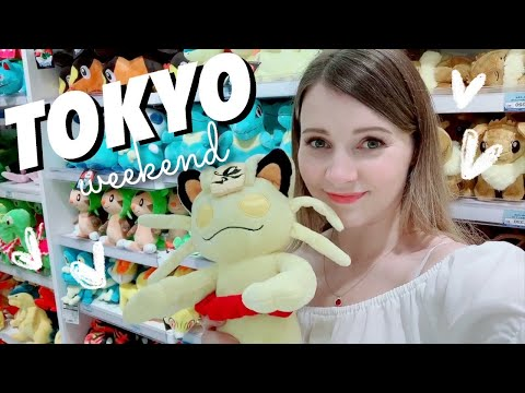 Weekend in my Life in Tokyo 💜Hair Salon, Cafes, Pokemon + Make Your Own Drink Izakaya!