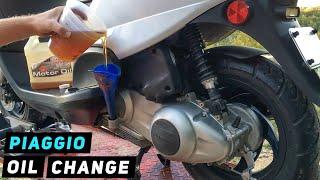 Cambio olio motore Piaggio Fly 150