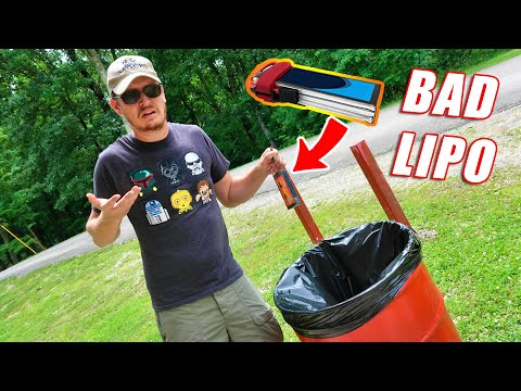 Are You Disposing Your RC Lipo Batteries Correctly? 90% of People Are Doing It Wrong - TheRcSaylors - UCYWhRC3xtD_acDIZdr53huA